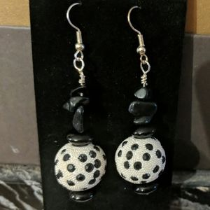 Super Cute Dalmatian Earrings